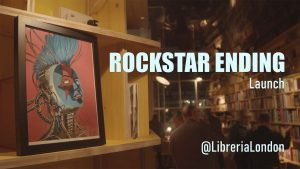 Rockstar Ending launch party