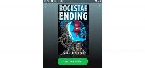 Rockstar Ending on Spotify