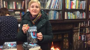 N A Rossi in bookshop