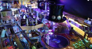 Guns n Roses Pinball Machine close up