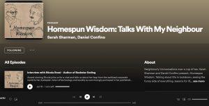 Homespun wisdom podcast