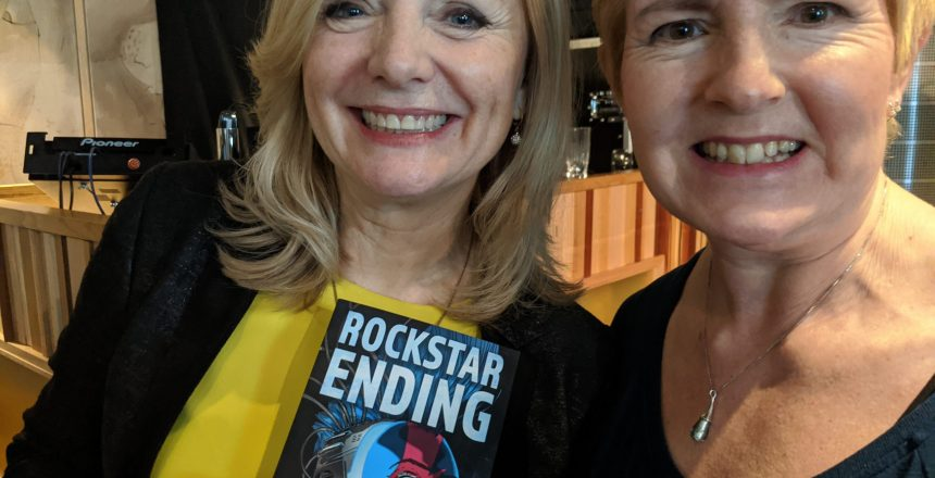 N A Rossi with Tracy Brabin